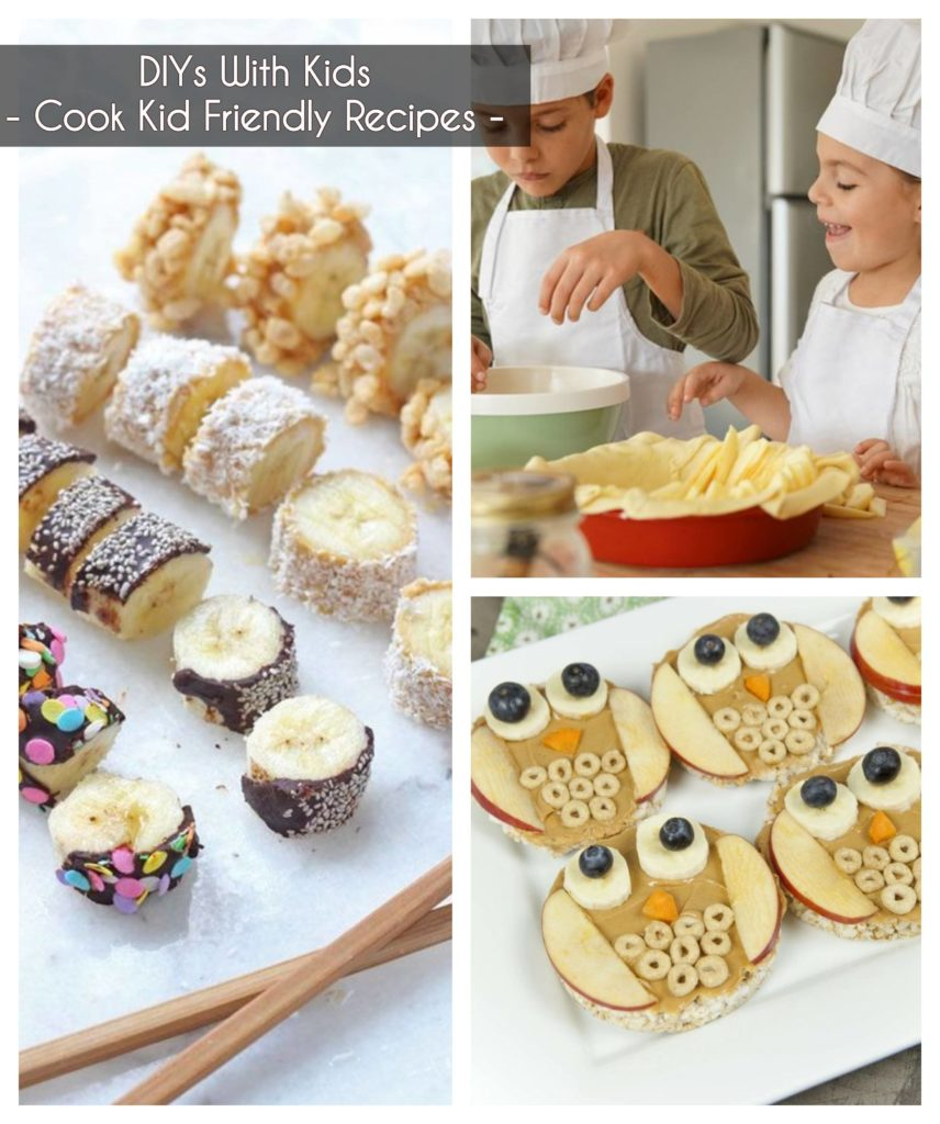 ideas to keep kids busy - cook kid friendly recipes