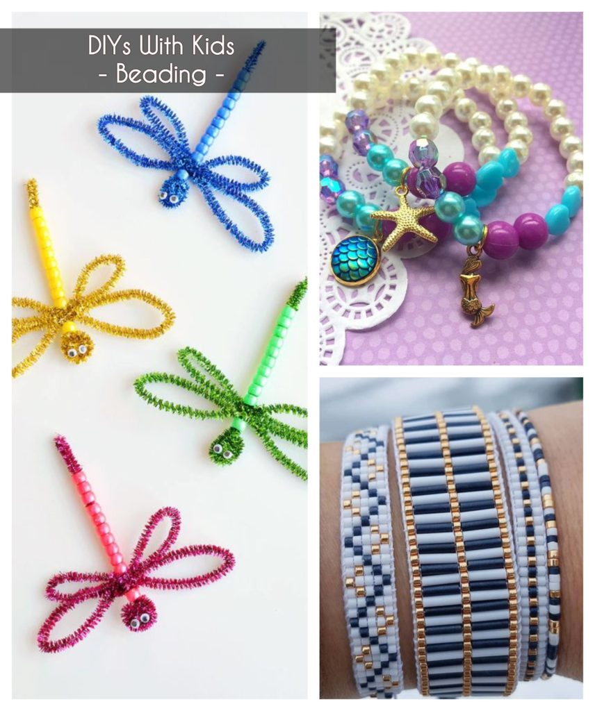 ideas to keep kids busy - beading