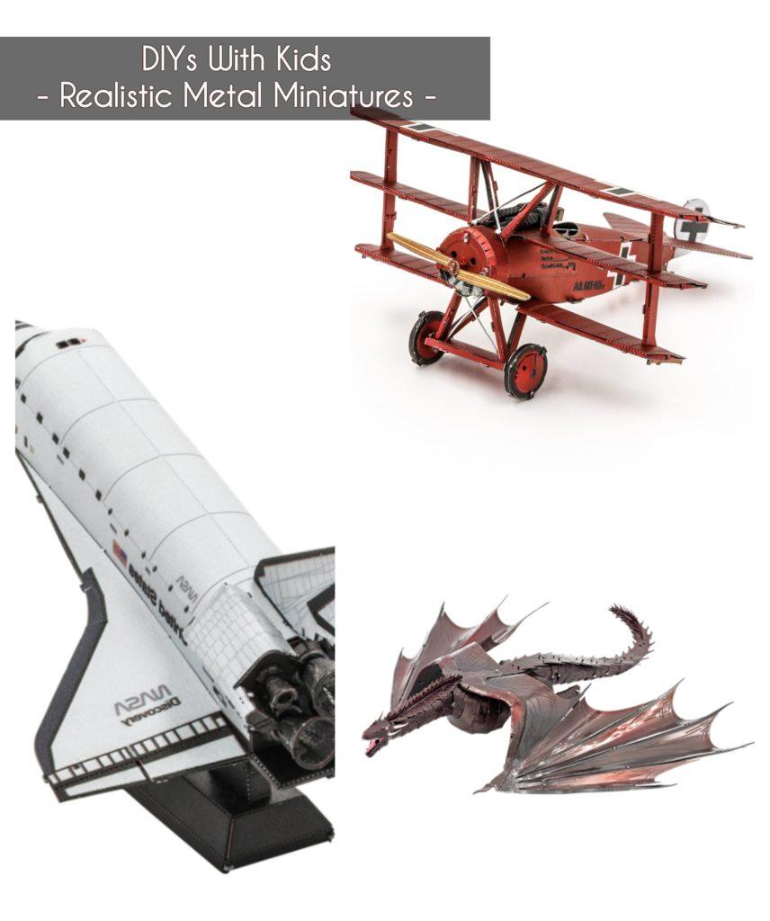 ideas to keep kids buys - make realistic metal miniatures
