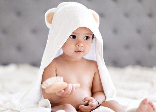 buy organic baby towels