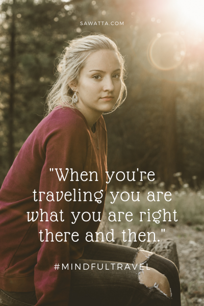 slow travel - pinterest pin